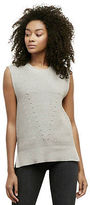 Kenneth Cole Two-Tone Sleeveless Sweater