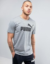 Puma Ess No.1 T-Shirt In Grey 838241 03