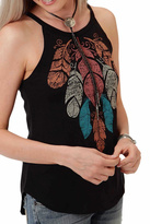 Roper Halter Feather Tank