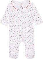 Petit Bateau Printed cotton baby-grow 0-12 months