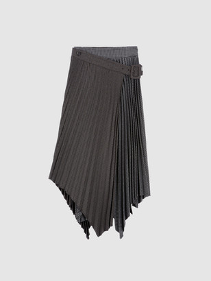 ANDERSSON BELL Ingrid Double Pleats Midi Skirt