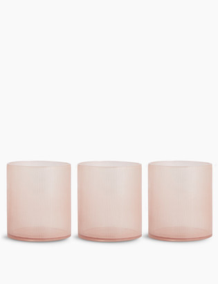 Marks and Spencer Set of 3 Linear Tealight Holders