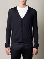 Balenciaga Optical-print cardigan