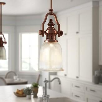 Erico Birch LaneTM Heritage 1-Light Single Bell Pendant Birch LaneTM Heritage Finish: Antiqued Copper