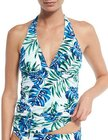 tommy bahama fronds floating reversible halter tankini top