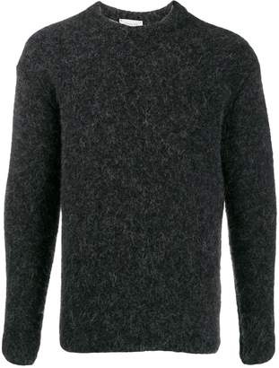 Lemaire textured knit crew neck sweater