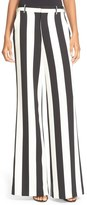 Alice + Olivia Paulette High Waist Flared Pants