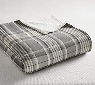 Pottery Barn Caswell Sherpa Blanket