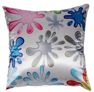Cortesi Home Fun Splat Accent Throw Pillow