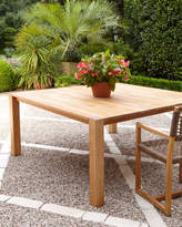 Horchow Maya Teak Parson's Dining Table