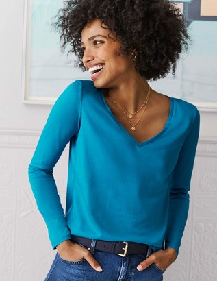 Boden Supersoft V-Neck Tee