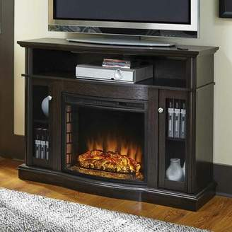 Red Barrel Studio Welliver TV Stand for TVs up to 50 inches with Fireplace Included Red Barrel Studio