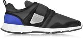 DSQUARED2 Marte Run Black and Blue Neoprene Men's Sneaker