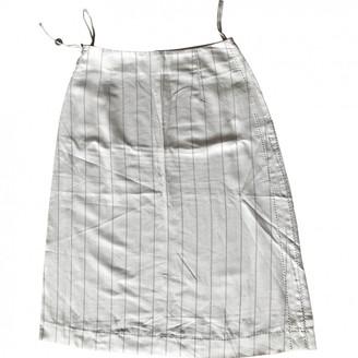 Maison Margiela Grey Skirt for Women Vintage