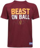 Under Armour Cleveland Cavaliers Combine Beast on Ball T-Shirt, Big Boys (8-20)