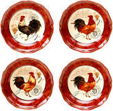Certified International Tuscan Rooster Set of 4 Soup Bowls