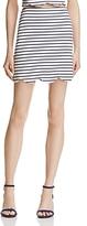 Aqua Scalloped-Hem A-Line Skirt - 100% Exclusive