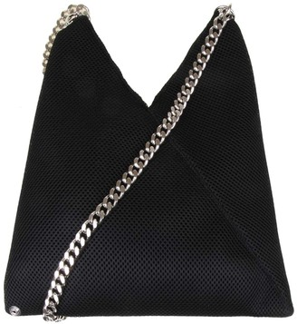 MM6 MAISON MARGIELA Japanese Bag In Black Color Fabric