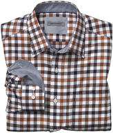 Johnston & Murphy Tailored Tri-Tone Gingham