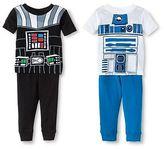 Star Wars Toddler Boys' 4pc Pajama Set