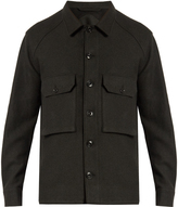 Lemaire Patch-pocket wool jacket