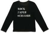 Butter Shoes Black Rock Paper Scissors Champion' Long-Sleeve Tee - Boys