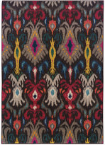 "Oriental Weavers Oriental Weavers Area Rug, Kaleidoscope 502X Ikat Charcoal 9'9"" x 12'2"""