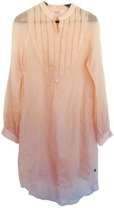BOSS ORANGE Beige Cotton Dress for Women
