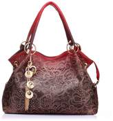 Realer Women's Designer Handbags Tote Purse PU Leather Fashion Top Handle Bags