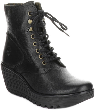Fly London Ygot Wedge Bootie
