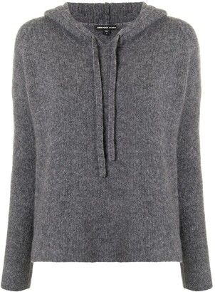 James Perse Knitted Hoodie