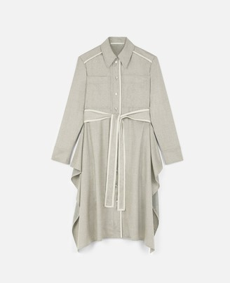 Stella McCartney Leilani Wool Flannel Dress, Women's