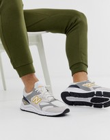 New Balance X90 Sneakers in white
