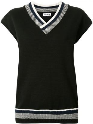 Coohem Good Summer V-neck knit top