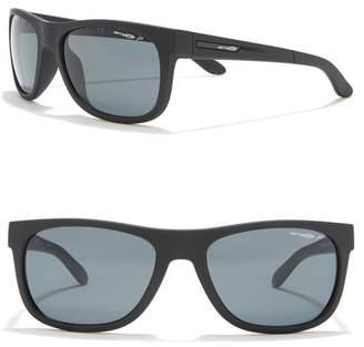 Arnette 57mm Square Sunglasses