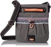 The Sak Sak Pack Nylon Small Flap Messenger Cross Body Bag