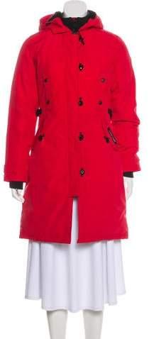 669d9508de0 Red Down Coat - ShopStyle
