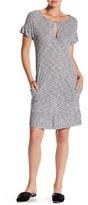 Lucky Brand Striped Tee Dress