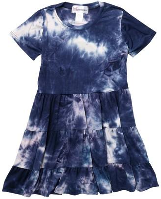 Cotton Emporium Short Sleeve Tiered Jersey Dress