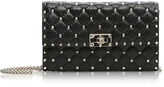 Valentino Quilted Leather Rockstud Spike Chain Bag