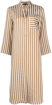 Antonelli Striped Shirt Dress