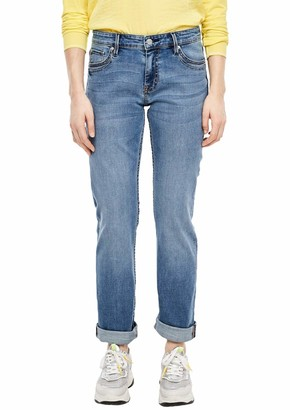 S'Oliver Women's 21.001.71.6116 Straight Jeans