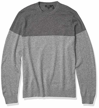 Theory Men's Hilles Cashmere Colorblocked Sweater