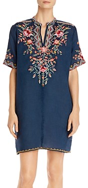 Johnny Was Alise Embroidered Tunic Dress