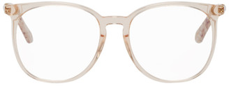 Chloé Pink Acetate Round Glasses