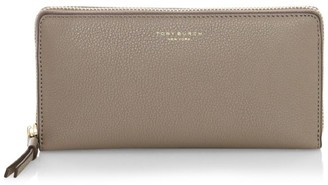 Tory Burch Perry Zip-Around Leather Wallet