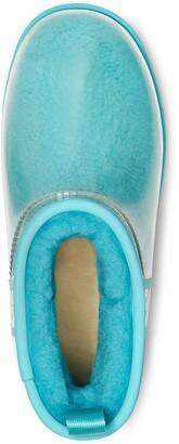 UGG Classic Mini Waterproof Clear Boot