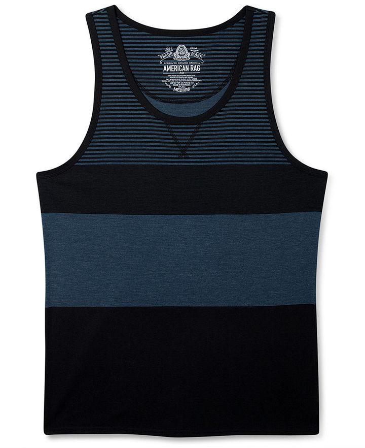 American Rag T-Shirt, Block Dot Tank Top