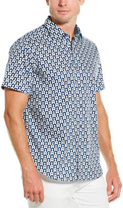 Robert Graham Crownpoint Classic Fit Woven Shirt