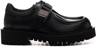 Valentino VLTN Buckle Derby Shoes